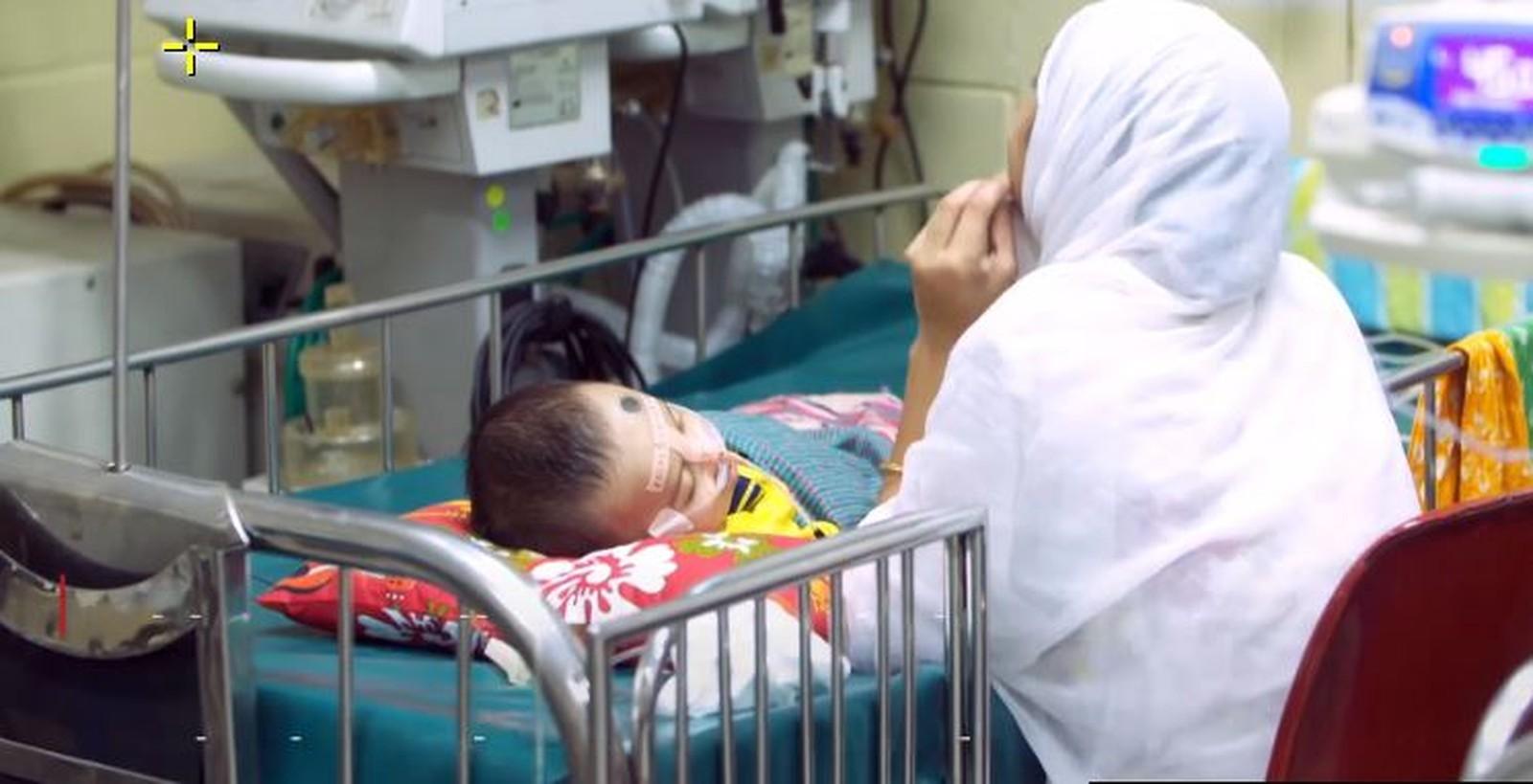 Pneumonia faz os pulmões do bebê pararem de absorver oxigênio (Foto: Reprodução/BBC)