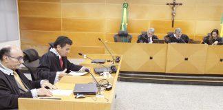 Sessão do TCE dessa terça-feira (10). (Foto: Ascom/TCE)