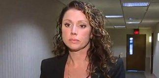Rebecca Bredow se recusou a cumprir ordem judicial para vacinar filho de nove anos (Foto: WXYZ/BBC)